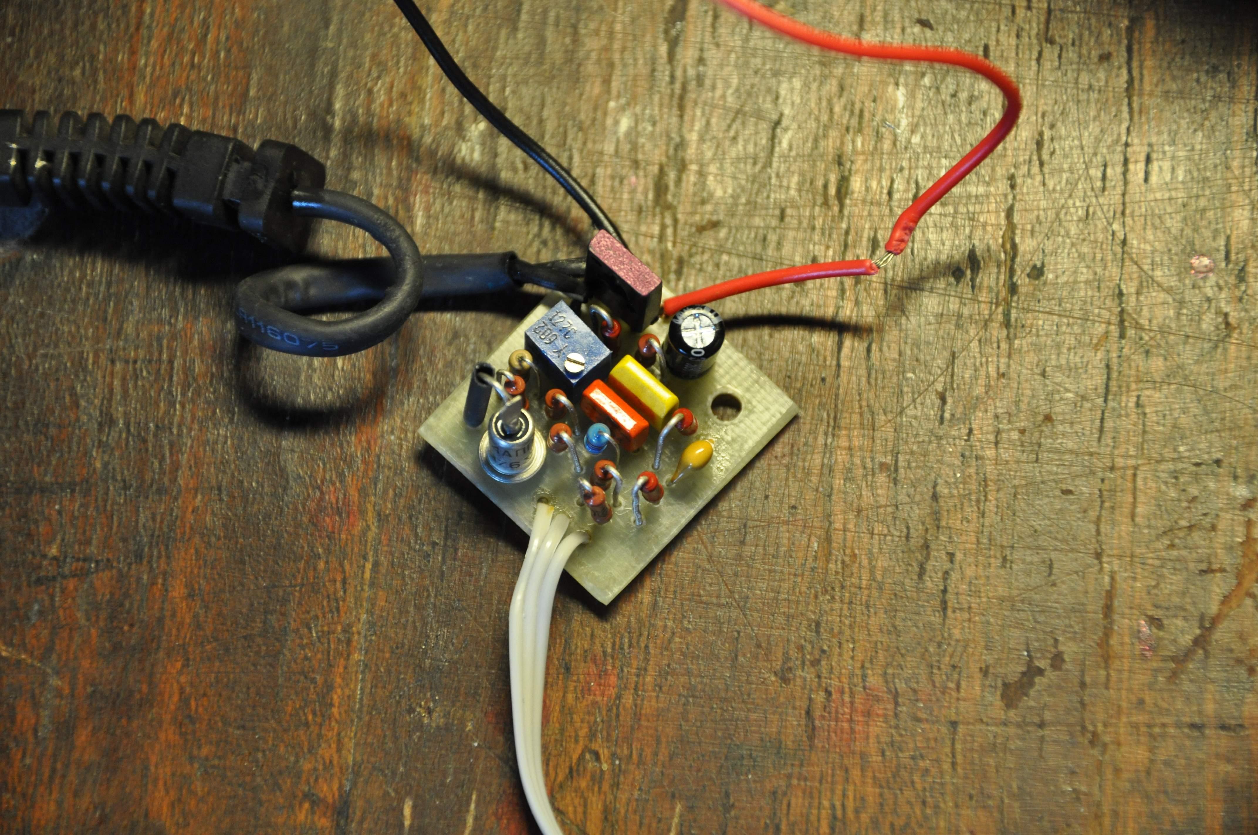 Резистор вентилятора своими руками 82